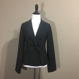Black Blazer With Pockets